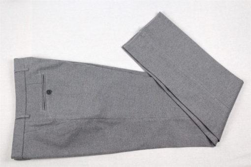 Handgemachte Hose der Sartoria Colazzo, Flanell, grau