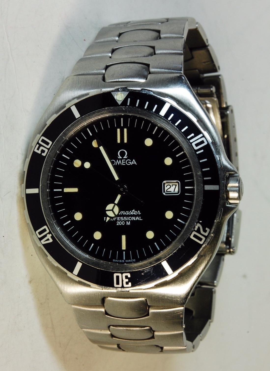 Peter Gensberger / rlx5513 / Vintage Uhr / Omega Seamaster