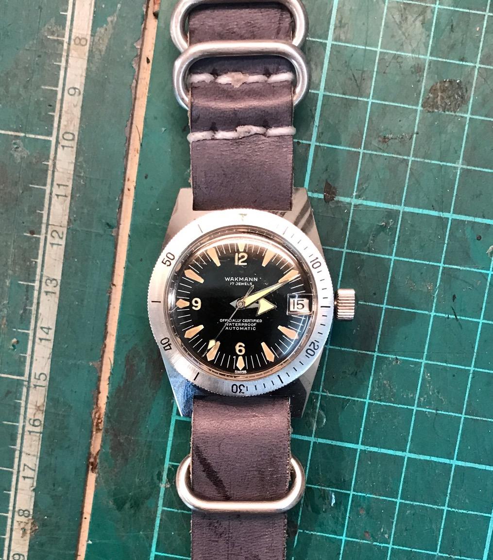 Peter Gensberger / rlx5513 / Vintage Uhr / Wakmann