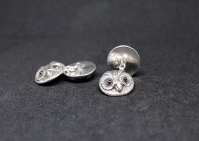 Silber mit Granaten; USA 50er Jahre
