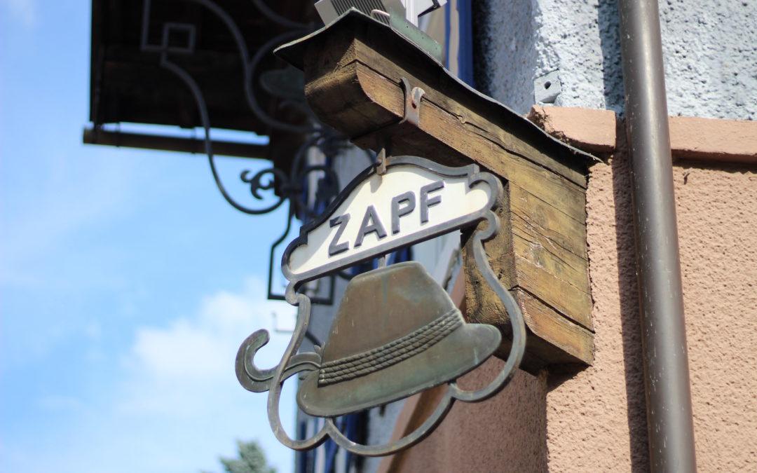 Zapf Hütte – darunter steckt immer ein kluger Kopf