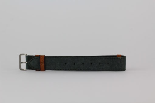SEESTRASSE7 Nato Band, petrol, 20mm
