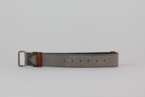 SEESTRASSE7 Nato Band, grau, 20mm