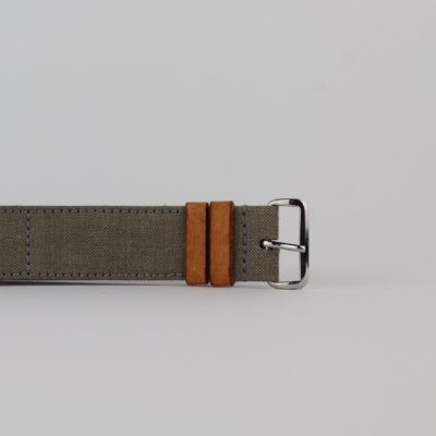 SEESTRASSE7 Nato Band, khaki, 22mm