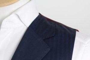 SARTORIA COLAZZO handgemachte Weste in dunkelblau