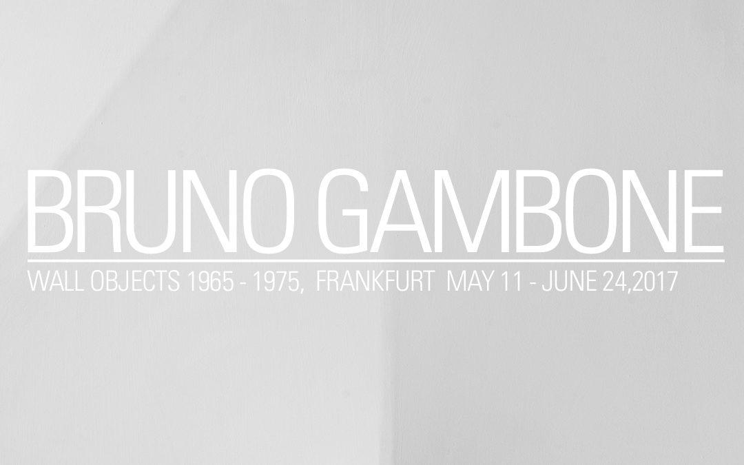 Galerie FRANK LANDAU zeigt BRUNO GAMBONE & Selected Works by HERMAN MILLER