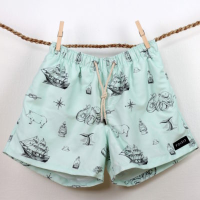 Poleit Badeshorts Moby Dick
