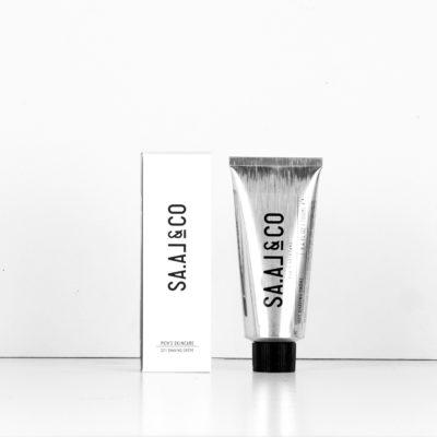 SA.AL&CO 021 Shaving Creme Tube & Packaging Frontal