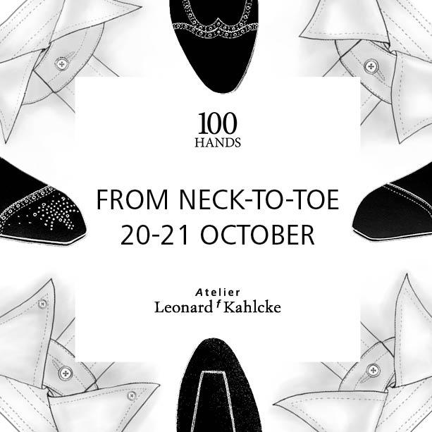 Maßtermin: 100HANDS und Leonard Kahlcke in Frankfurt